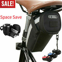 B-SOUL Bike Bicycle Saddle Bag Under Seat Storage Tail Pouch Cycling Rear Pack