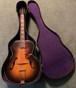 Vintage GREISCH New Yorker Hollow Body Guitar / Case