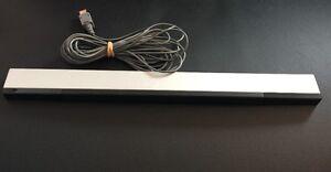 Wii & U ✔ OEM ORIGINAL GENUINE GREY SENSOR BAR RVL-014 ✔ TESTED & SHIPS TODAY! ✔