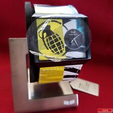 """Vestal """"Scheme"""" (90's) 30M Japanese Movement w/ Original Case & Stand"""