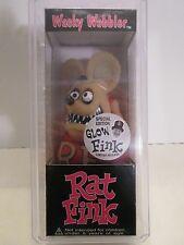 Funko ~ Wacky Wobbler ~ Rat Fink Speacial Edition Glow Fink ~ MIB