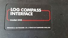 B&G LOG COMPASS INTERFACE CONTROL UNIT - brookes and gatehouse