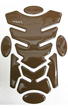 Transformer Brown 3D Resin Domed Resin Tank Pad + 4 Oval Pads