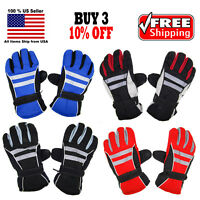 Winter Gloves Waterproof Thermal Wind Proof Ski Warm Snow Sports Thermal NEW
