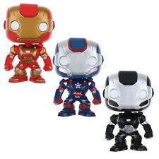 Funko POP Vinyl Figure Marvel's Iron Man 3 Iron man Iron Patriot War Machine Toy