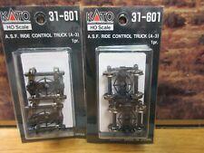 Kato 31-601 A.S.F. Ride Control Trucks 2 Pair Ho Scale Model Railroad