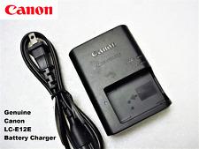 Original OEM CANON EOS Rebel SL1 M M2 M10 100D LP-E12 Battery Charger LC-E12E