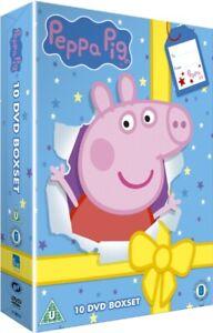 Peppa Pig 10 Disc Box Set DVD NEW & SEALED