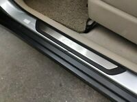 ZHLZH 4pcs Car Door Sill Scuff Plate for KIA Picanto X LINE 2015-2020 Auto Outer Door Sill Trim Strips Protector Kick Plates,Stainless Steel Scratch Cover Protector Welcome Guard Pedal Accessories