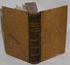 MARECHALERIE. EQUITATION. LE MARECHAL DE POCHE CHEVAL EN VOYAGE. 2 PLANCHES 1796