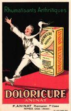 6 Postcards Advertising  Pharmacy Thermogène Doloricure Illustr.Jean Dupin Litho