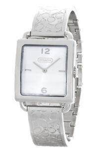 Coach Femmes Argent Cadran Legacy Bracelet Montre 14501731