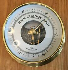 5 inch Brass Taylor Barometer