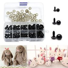 264x Plastic Safety Eyes Toys for Teddy Bear Doll Animal Making Craft Screws 01