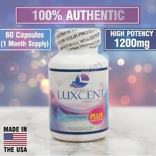 60 LUXCENT LUMINOUS CAPS L-GLUTATHIONE WHITENING & LIGHTENING CAPSULES / PILLS