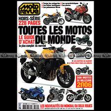 MOTO REVUE HS 510 HORS-SERIE ★ GUIDE D'ACHAT SPECIAL SALON 2006 ★ 500 Modèles !