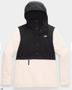 2021 NWT WOMENS THE NORTH FACE FALLBACK HOODIE $190 Small Morning Pink TNF Black