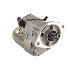 NISSAN FORKLIFT STARTER SD22 & SD25 DIESEL ENGINE