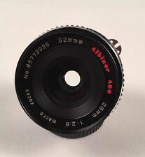 Nikon EM Mount Albinar ADG 28mm, 1:2.8 Macro Focusing Lens NIKON