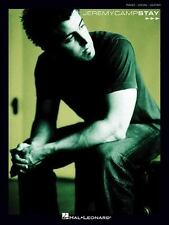 "JEREMY CAMP ""STAY"" PIANO/VOCAL/GUITAR MUSIC SONGBOOK FREE SHIPPING"