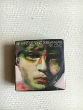 THE PAINS OF BEING PURE AT HEART - BELONG VERY RARE PLAY BUTTON BADGE ALBUM USB