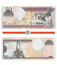 Dominican Republic 50 Pesos 2003 Unc Pn 170c