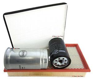 *GENUINE* SERVICE FILTER KIT (OIL, FUEL, AIR, CABIN) for LDV V80 DIESEL 2013 -ON