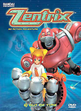 Zentrix Out of Time Vol 1(DVD ,3-Discs) 13 Episodes - OVER 5 HOURS ! BANDAI