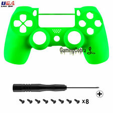 Neon Green Design Front Shell Cover for PS4 Pro Slim Remote Controller JDM-040