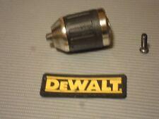 """DeWalt 500 Keyless 1/2"""" Chuck W/ Screw 330075-91,330075-45 dc988-987-983-920"""