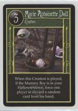 2005 The Nightmare Before Christmas #NoN Marie Antoinette Doll Gaming Card 2a1