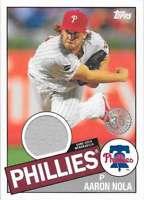 2020 Topps Series 2 1985 Anniversary Relic #85TR-AN Aaron Nola - Phillies