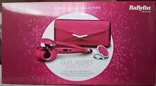 BaByliss 2663GU Curl Secret Simplicity Hair Styler Gift Set Pink simply style uk