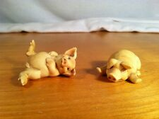 Vintage Pig Figurines Artefice Ottanta Made In Italy