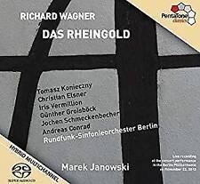 Marek Janowski; Konieczny; - Wagner: Das Rheingold (NEW SACD)