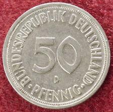 Alemania 50 Pfennig 1950 D (D2308)