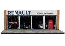 Diorama présentoir Renault Arsenal Automobiles - 1/43ème - #43-2-D-D-008