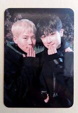 MONSTA X Mini 5th The Code Album Official Photocard De:Code - Wonho & Shownu