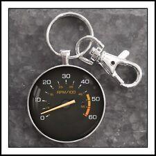 Vintage Chevy Monte Carlo tachometer photo keychain pendant charm gift🎁