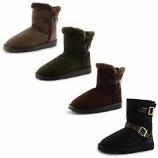 """Unbranded Women's Snow, Winter Flat (less than 0.5"""") Boots"""