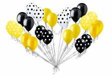 24 Balloons Bumblebee Inspired Latex Party Decoration Baby Shower Birthday Bee