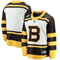 Boston Bruins White 2019 Winter Classic Breakaway Jersey Size S M & L