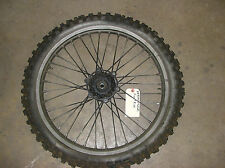 1988 Suzuki RM250 Front Wheel w/ Tire  hub spokes rim bearings