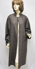 ESKANDAR Neiman Marcus NEW Brown Cashmere Silk Coat 1