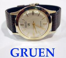 GRUEN Mens POWER RESERVE AUTOMATIC Watch 1960s RARE Excellent Condition SERVICED