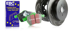 EBC Front Blade Sport Discs & Greenstuff Pads VW Polo (6C) 1.0 (60 HP) (2014 on)