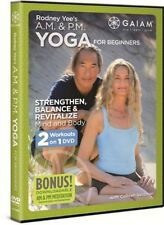 Rodney Yee's Am/Pm Yoga for Beginners, New, Free Shipping