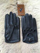 Driving Leather Gloves Deerskin Car Glove Auto Gloves black brown cognac Tan