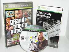 Grand Theft Auto Iv 4 (Xbox 360) *Nice* Free Ship!