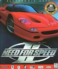 Need for Speed NFS 2 II  Arcade Car Racing PC new CD